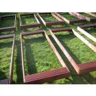 Basic Cemetery Grave Covers (Mahogany)