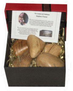 Wooden stones Presentation Set