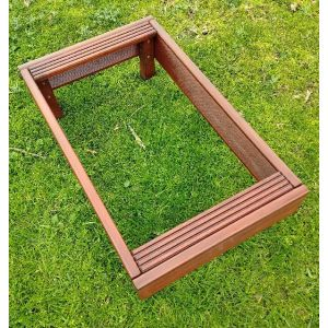 Cemetery Lawn Grave Tidy (Mahogany) Set of 10