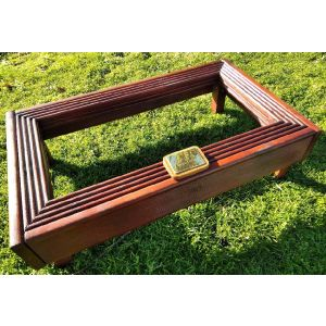 Deluxe Pet and Ashes Garden Grave Tidy (Mahogany)