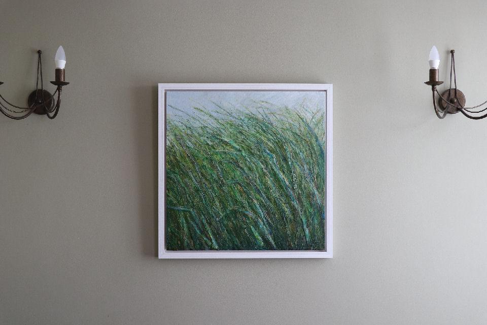 Reflection art by Rachel Wiles